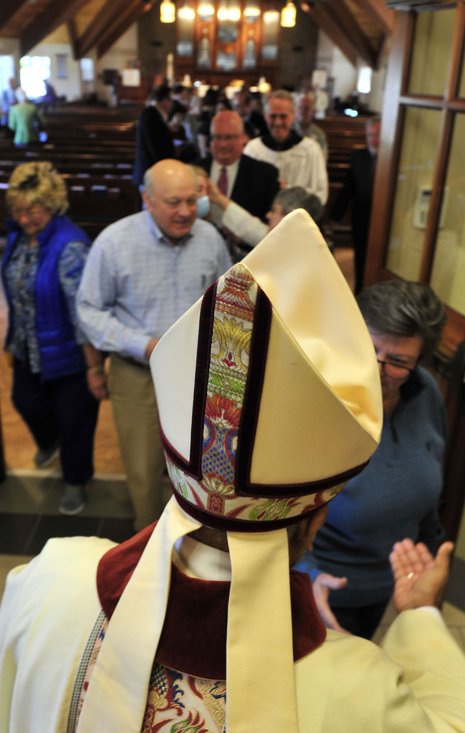 Bishop Visits St. Stephen's