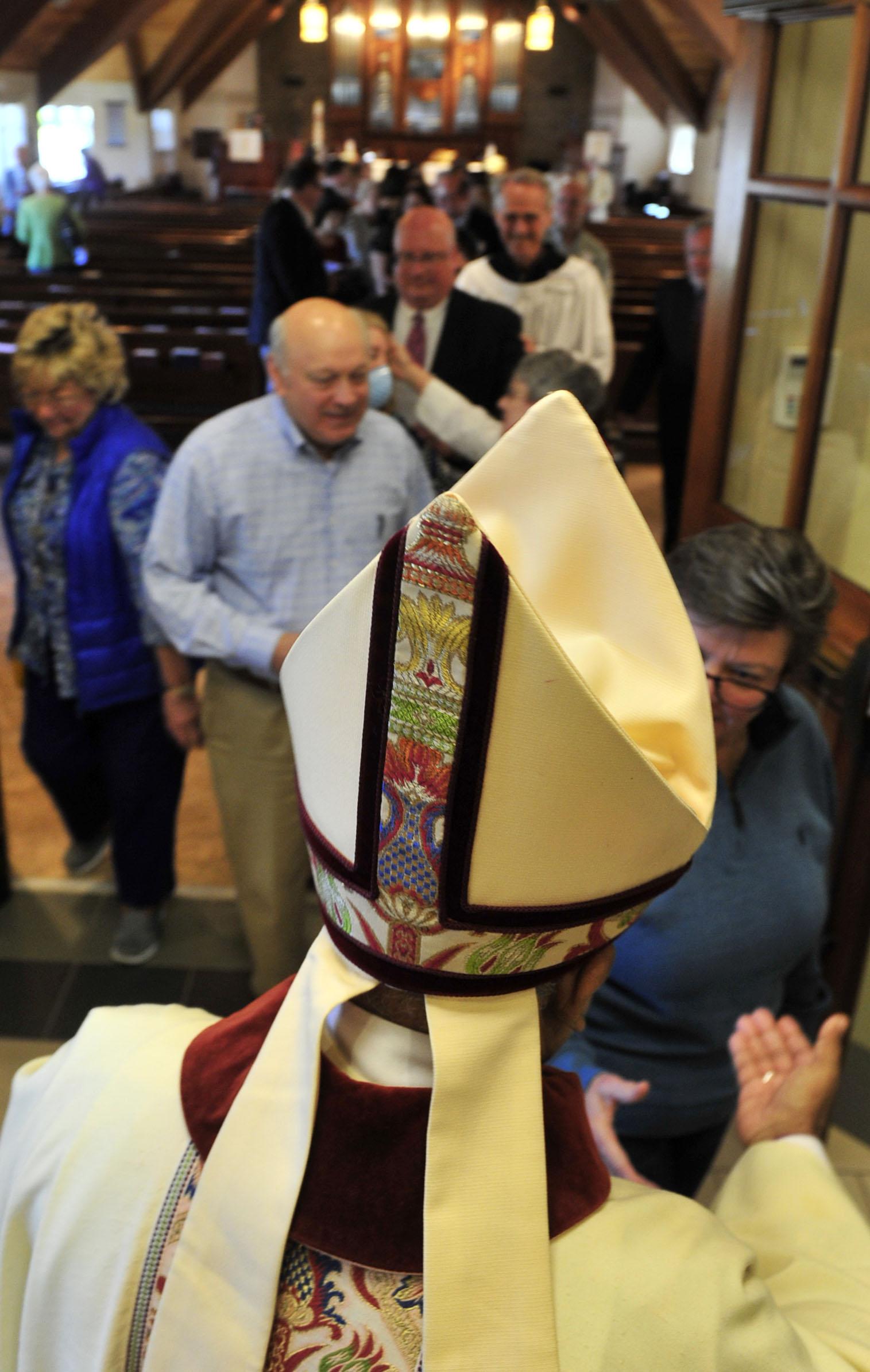 Bishop Visits St. Stephen's