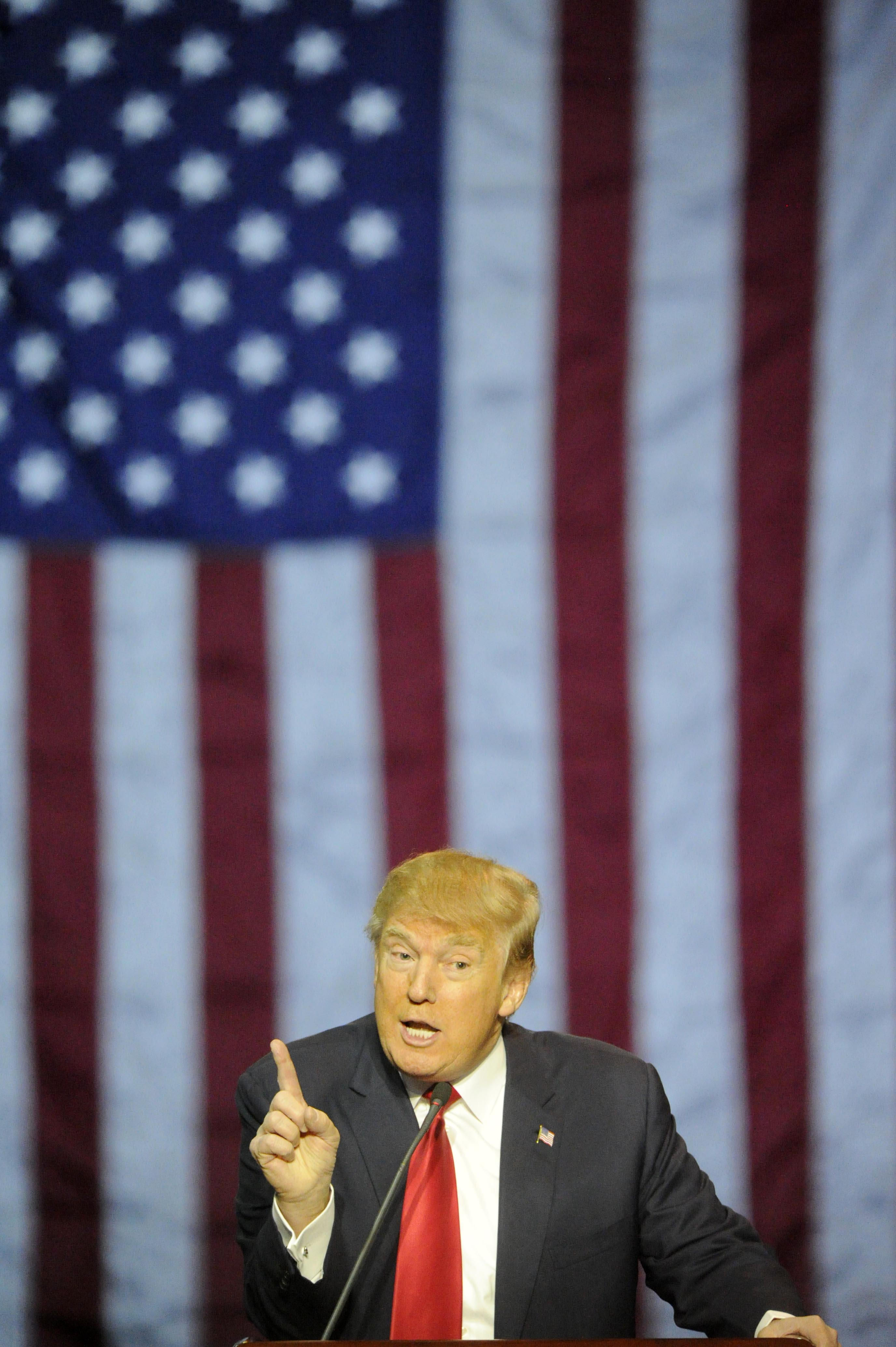 Donald Trump In Birmingham