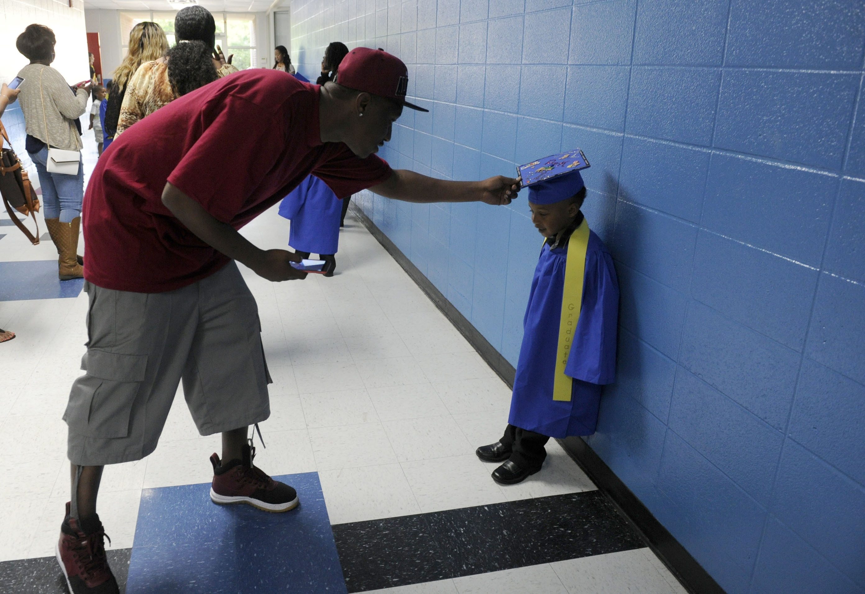 Preschool graduation 2016 Showers YMCA