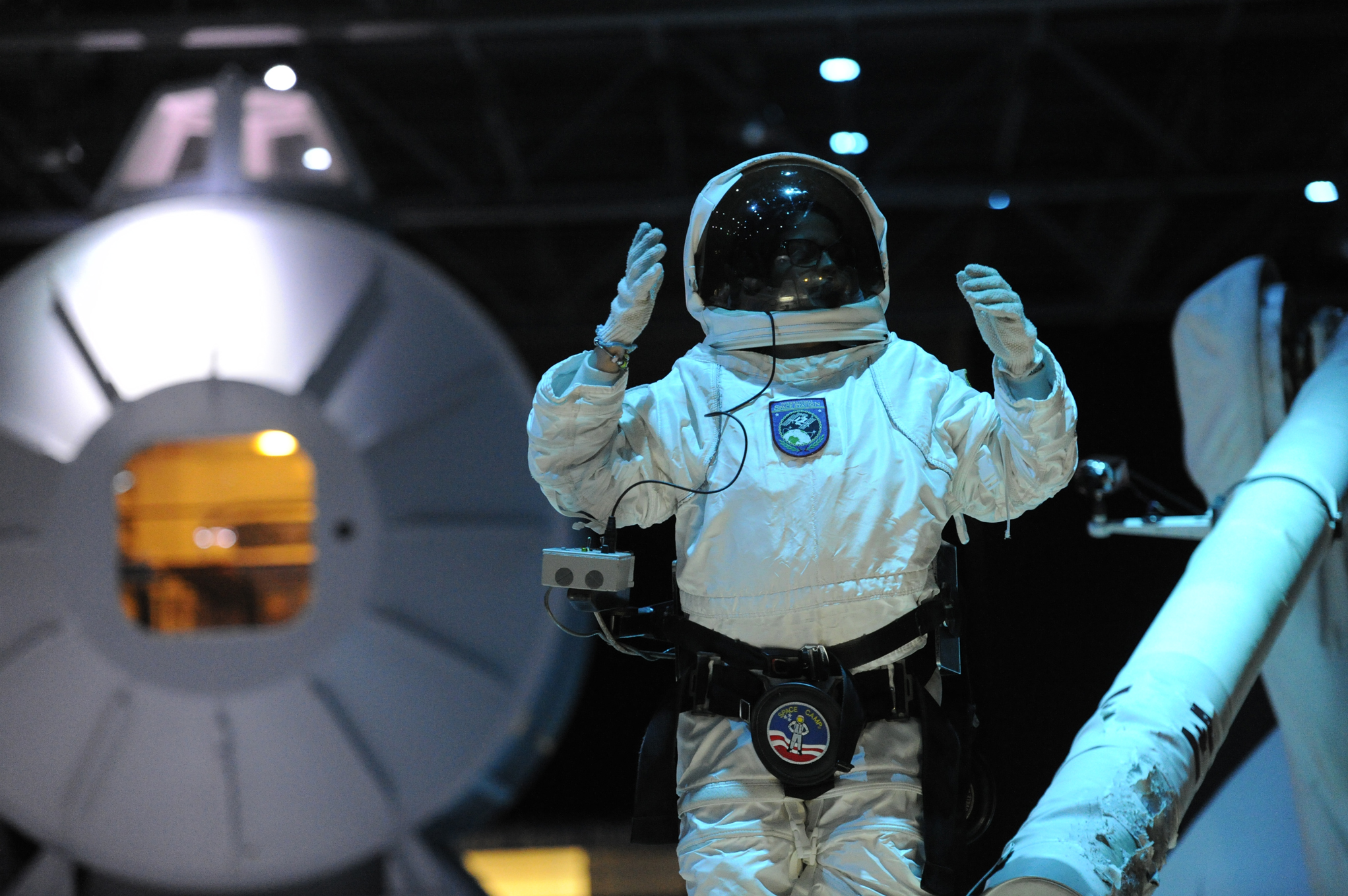 Omega Team Reaches New Heights At Space Camp