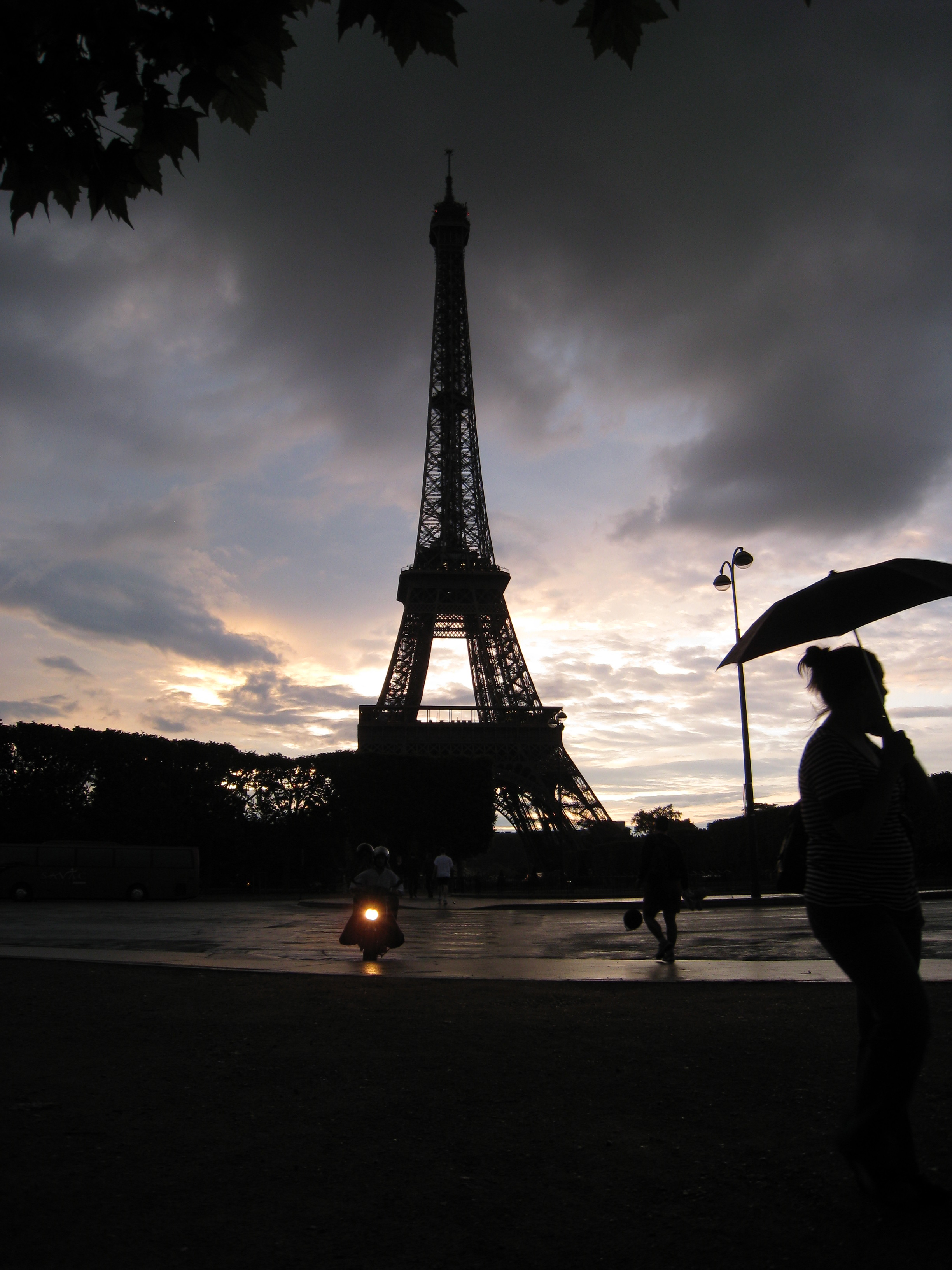 Rainstorm, Paris