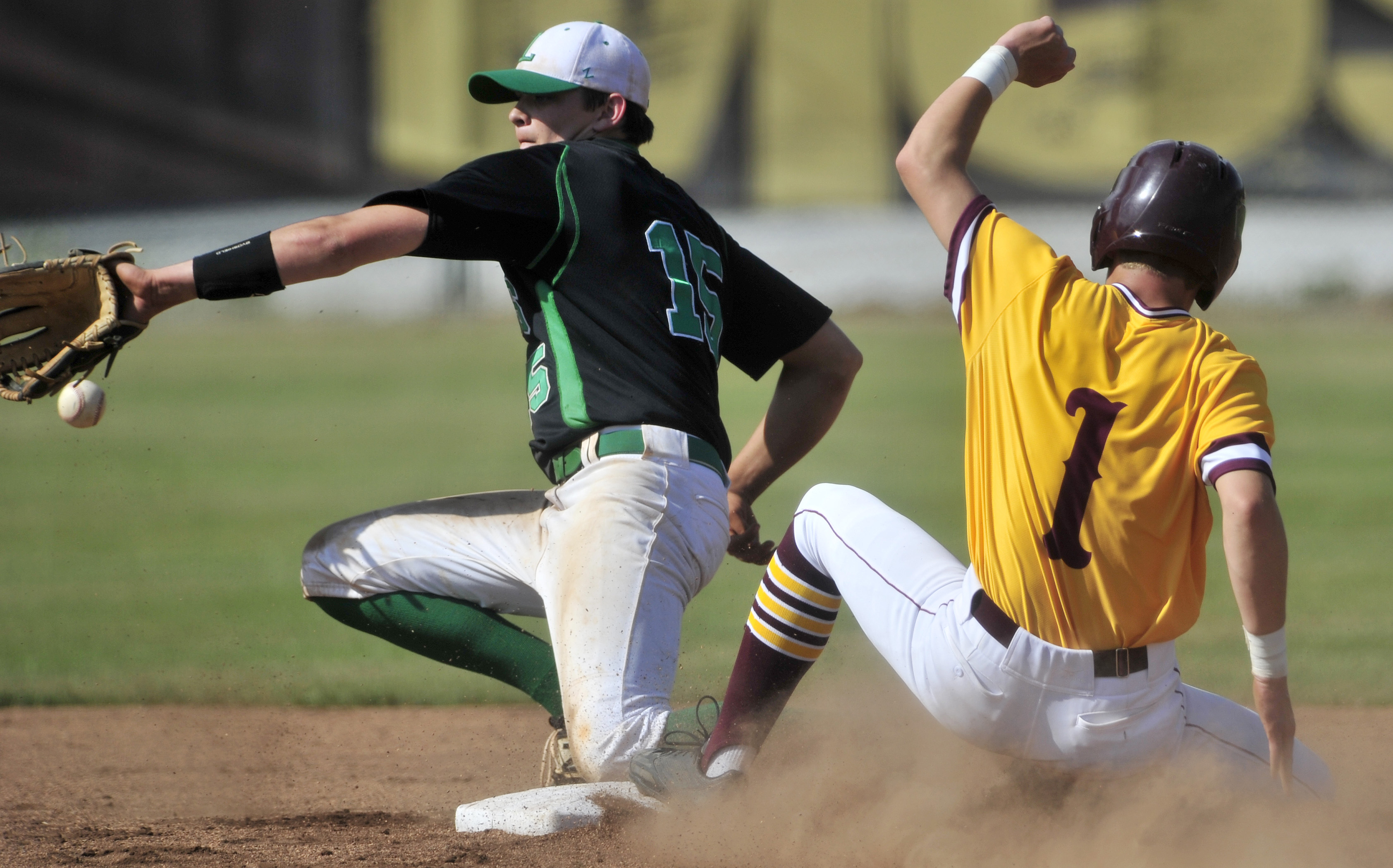 Leeds Greenwave - Madison Academy Mustangs Playoff Baseball
