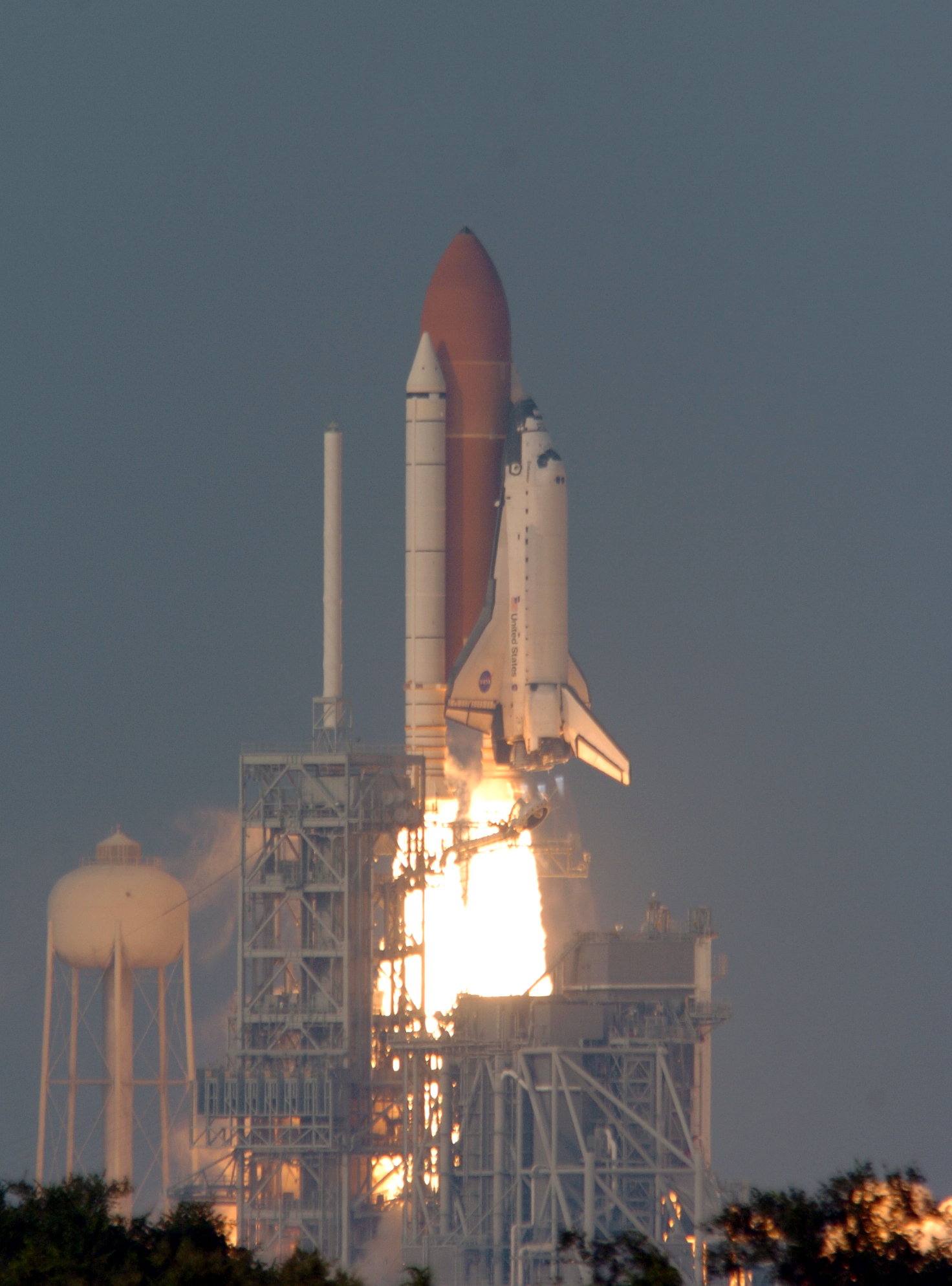 Shuttle Endeavor Launch